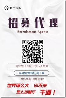 北宇国际邀请海报