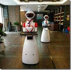 酒店送餐机器人